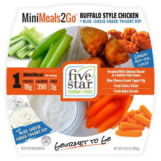 MiniMeals2Go™ Buffalo Style Chicken + Blue Cheese Greek Yogurt Dip