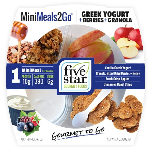 MiniMeals2Go™ Greek Yogurt + Berries + Granola