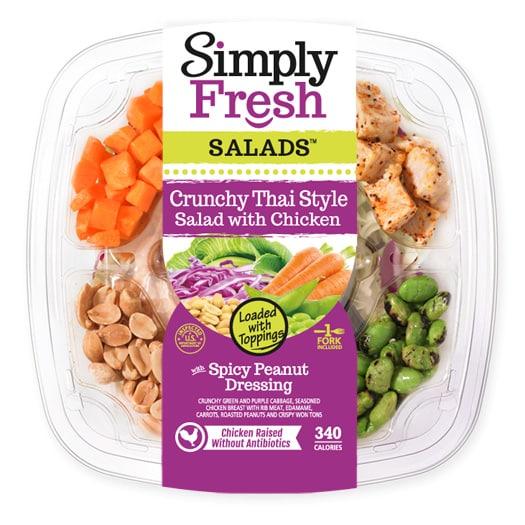 Crunchy Thai Style Salad with Chicken