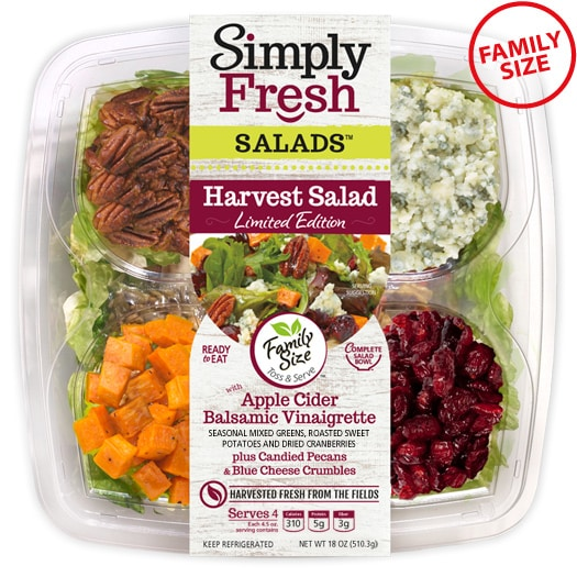 Family Size Harvest Salad ~ Seasonal