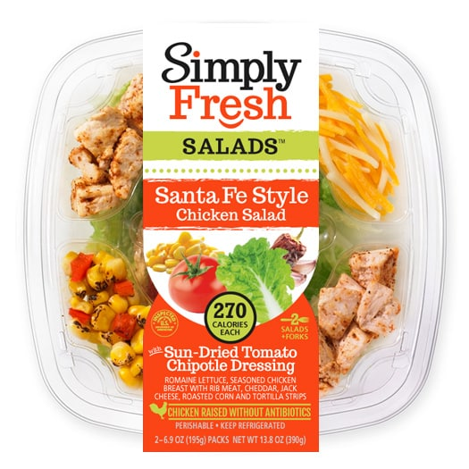 Santa Fe Style Salad with Chicken