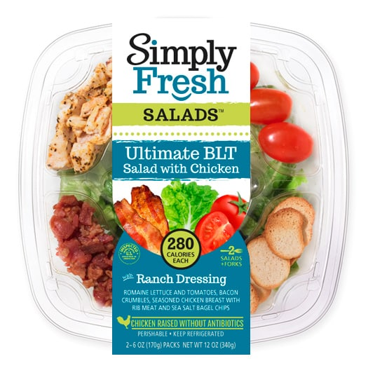 Ultimate BLT Salad with Chicken
