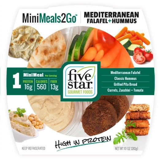 MiniMeals2Go™ Mediterranean Falafel + Hummus