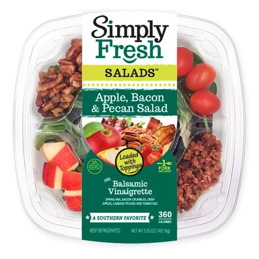 Apple, Bacon & Pecan Salad