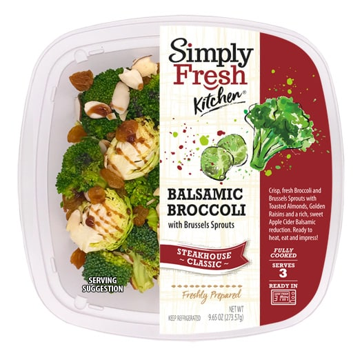 Broccoli Balsamic w/ Brussels Sprouts