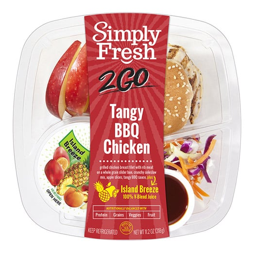 SF2Go™ Tangy BBQ Chicken Meal + Juice