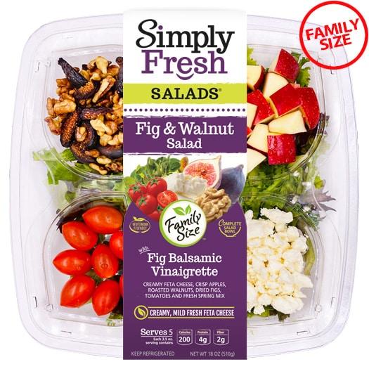 Family Size Fig & Walnut Salad