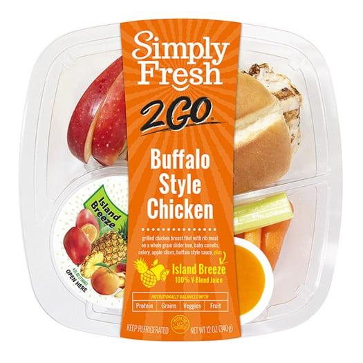 SF2Go™ Buffalo Style Chicken Meal + Juice