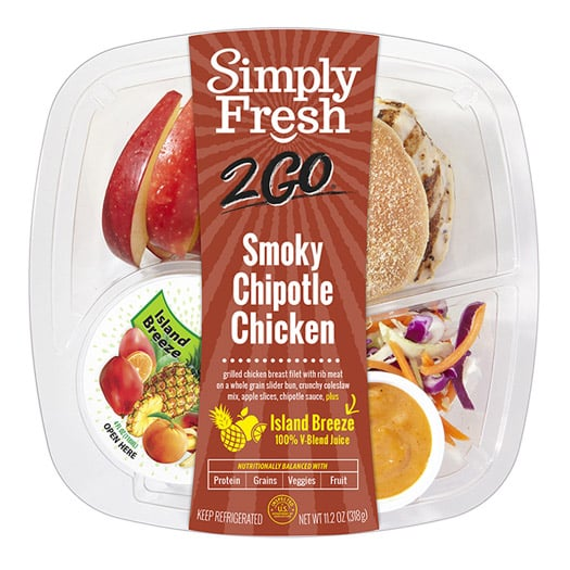 SF2Go™ Smoky Chipotle Chicken Meal + Juice