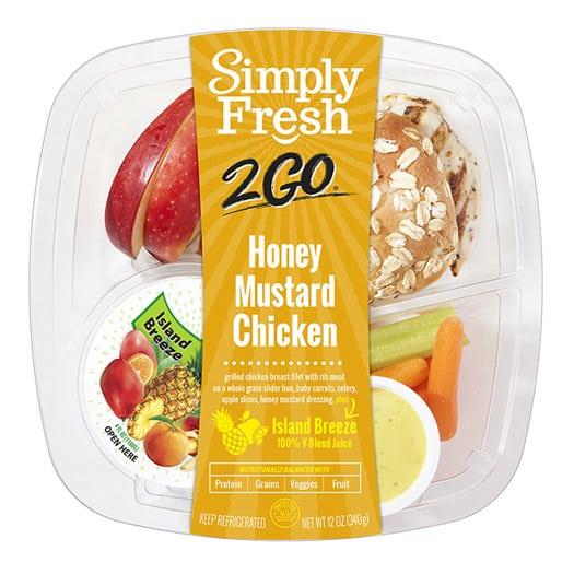 SF2Go™ Honey Mustard Chicken Meal + Juice