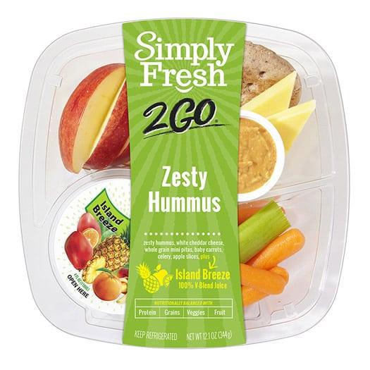 SF2Go™ Zesty Hummus Meal + Juice