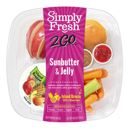 SF2Go™ Sunbutter & Jelly Meal + Juice