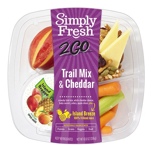 SF2Go™ Trail Mix & Cheddar Meal + Juice