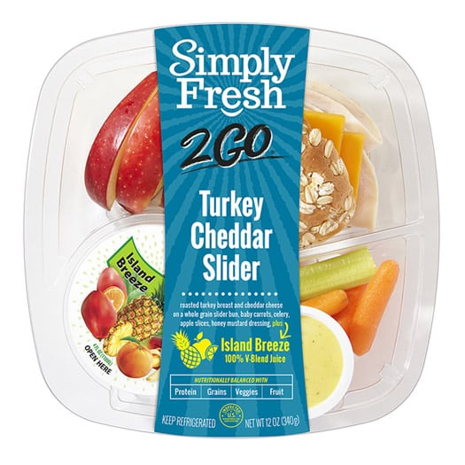 SF2Go™ Turkey Cheddar Slider Meal + Juice