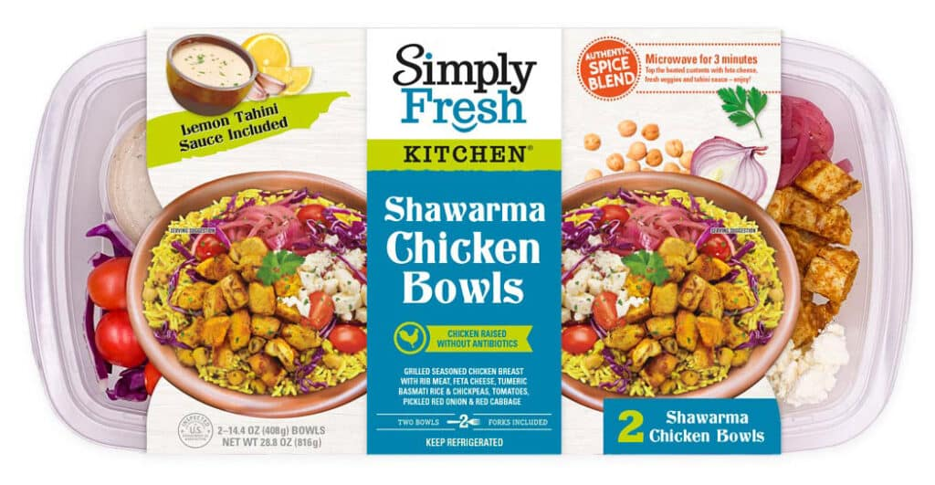 Shawarma Chicken Bowls